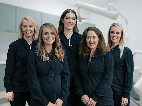 Group of doctors at Reich Dental Center